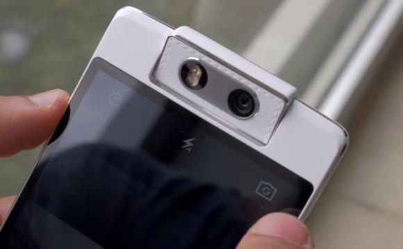 Oppo N3 dengan kamera berotasi otomatis