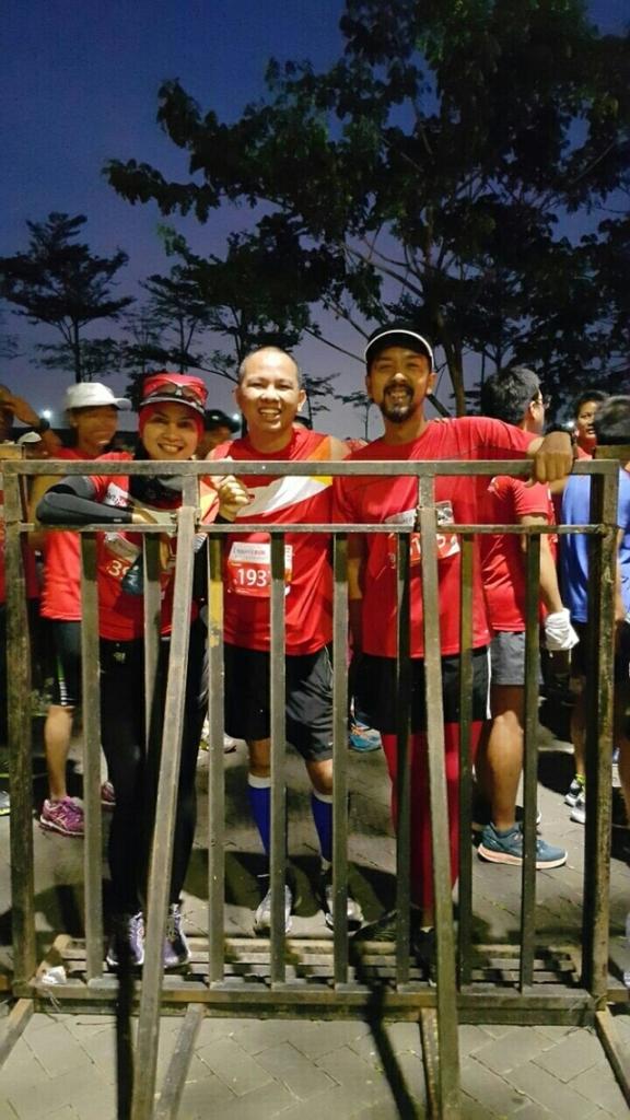 Momen sebelum start Halo Fit Run 2015 20K